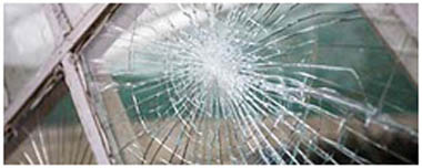 East Malling Smashed Glass